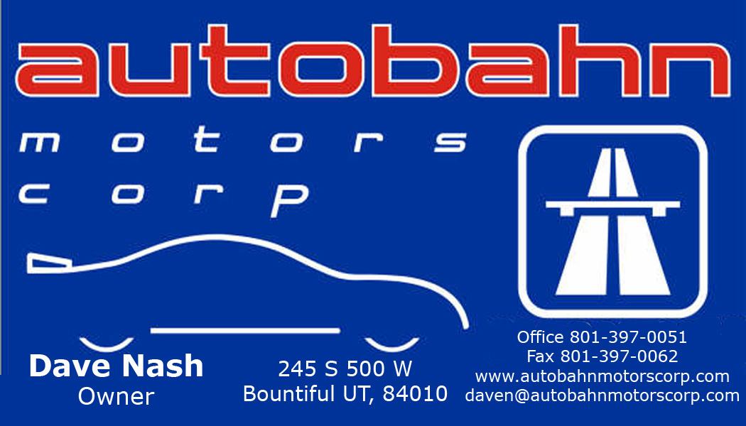 Autobahn Motors Corp Bountiful Ut Read Consumer