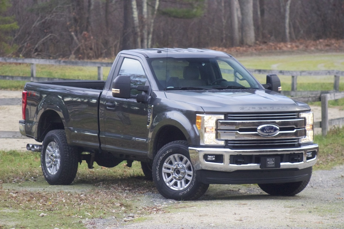 Exterior of the 2017 Ford Super Duty