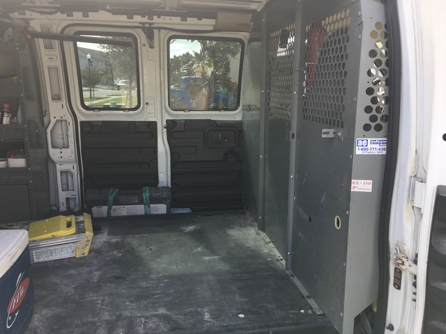 Picture of 2005 Chevrolet Express Cargo 3 Dr G2500 Cargo Van Extended, interior