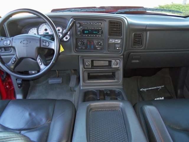 Picture Of 2004 Chevrolet Silverado 1500 SS 4 Dr STD AWD Extended Cab SB,  Interior