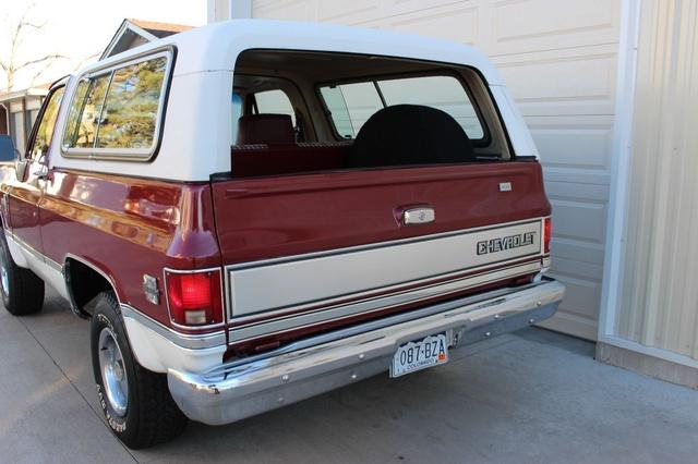 Picture of 1981 Chevrolet Blazer Silverado 2-Door 4WD, exterior, gallery_worthy