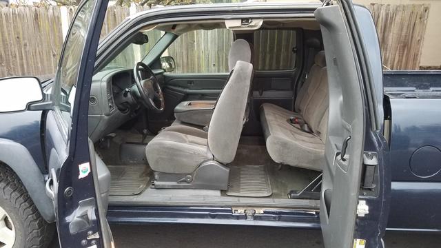 Picture of 2005 Chevrolet Silverado 1500 Z71 Ext Cab 4WD, interior