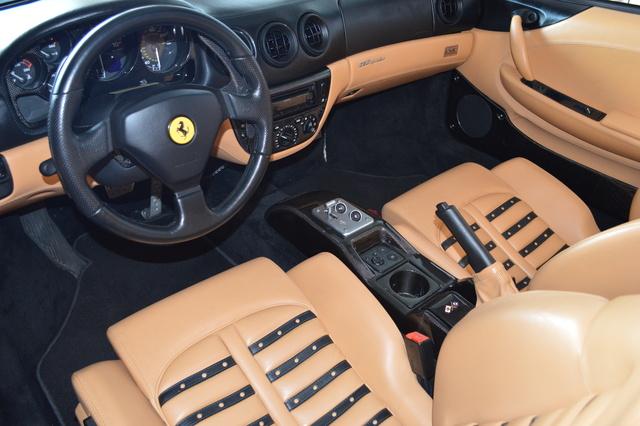 2001 Ferrari 360 Spider Interior Pictures Cargurus