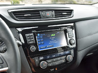 2017 Nissan Rogue Hybrid SL FWD, 2017 Nissan Rogue Hybrid SL radio display, interior, gallery_worthy