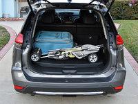 2017 Nissan Rogue Hybrid SL FWD, 2017 Nissan Rogue Hybrid SL cargo area, interior, gallery_worthy