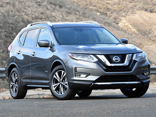 2017 Nissan Rogue Hybrid SL in Gun Metallic