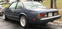1986 BMW 6 Series Picture Gallery