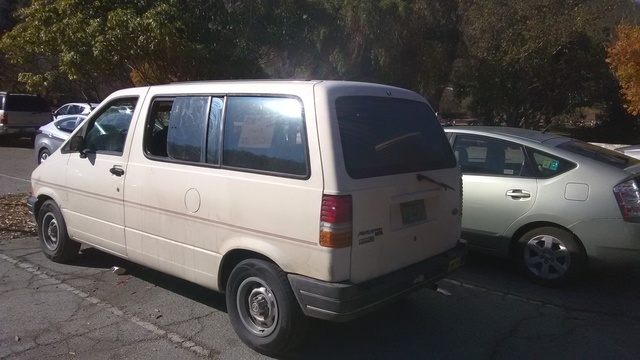 Picture of 1990 Ford Aerostar 3 Dr STD Cargo Van