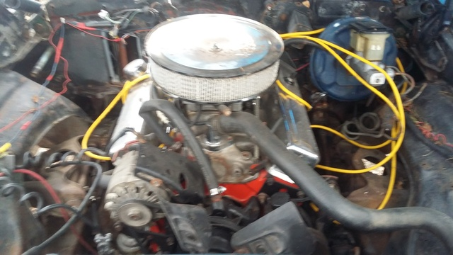 Picture of 1975 Chevrolet Nova, engine
