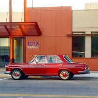 1970 Mercedes-Benz 280 Picture Gallery