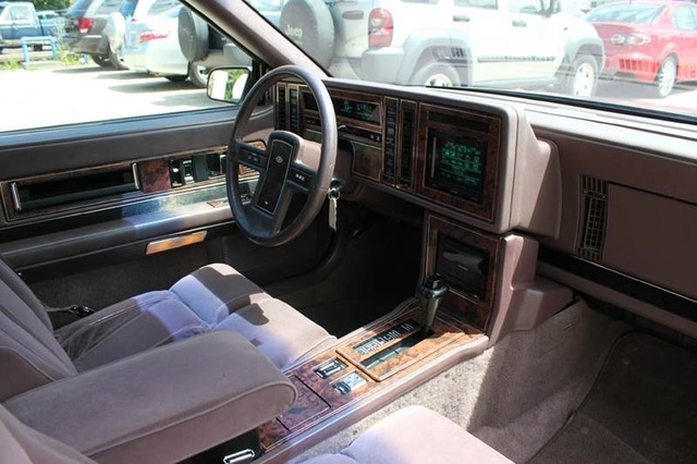 2017 Buick Grand National >> 1989 Buick Riviera - Interior Pictures - CarGurus