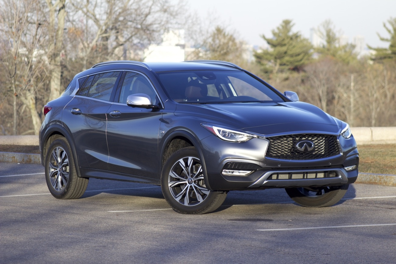 Front 3/4 of the 2017 Infiniti QX30