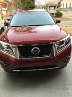 Picture of 2015 Nissan Pathfinder Platinum, exterior