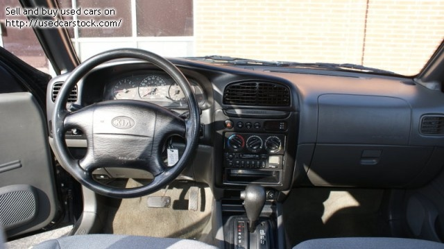 Picture of 1999 Kia Sportage EX 4WD, interior