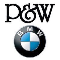 P and W BMW MINI logo