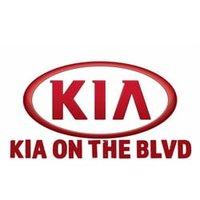 Kia on the Boulevard logo