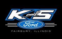 K & S Ford logo