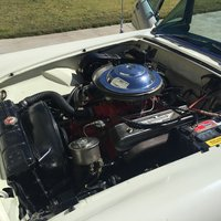 Picture of 1956 Ford Thunderbird, engine