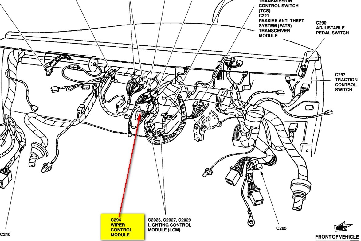 150 Fuel Pump Wiring Diagram Moreover 1997 Ford Radio Wiring ...  Fuel Pump Wiring Harness Diagram on