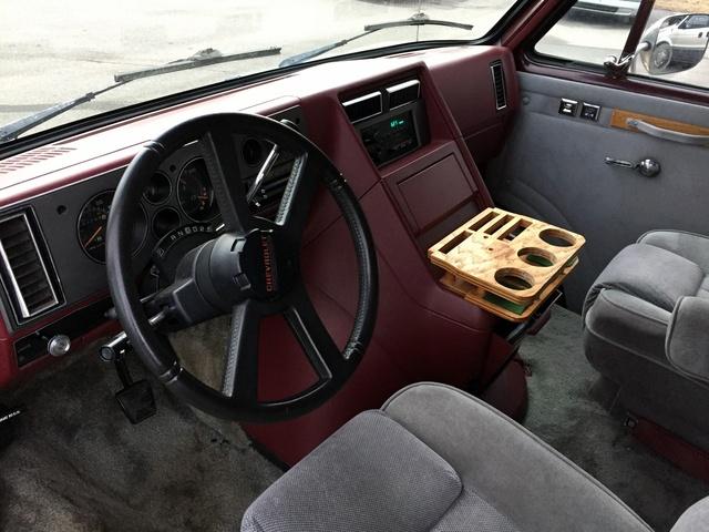Picture of 1990 Chevrolet Sportvan 3 Dr G20 Passenger Van Extended, interior, gallery_worthy