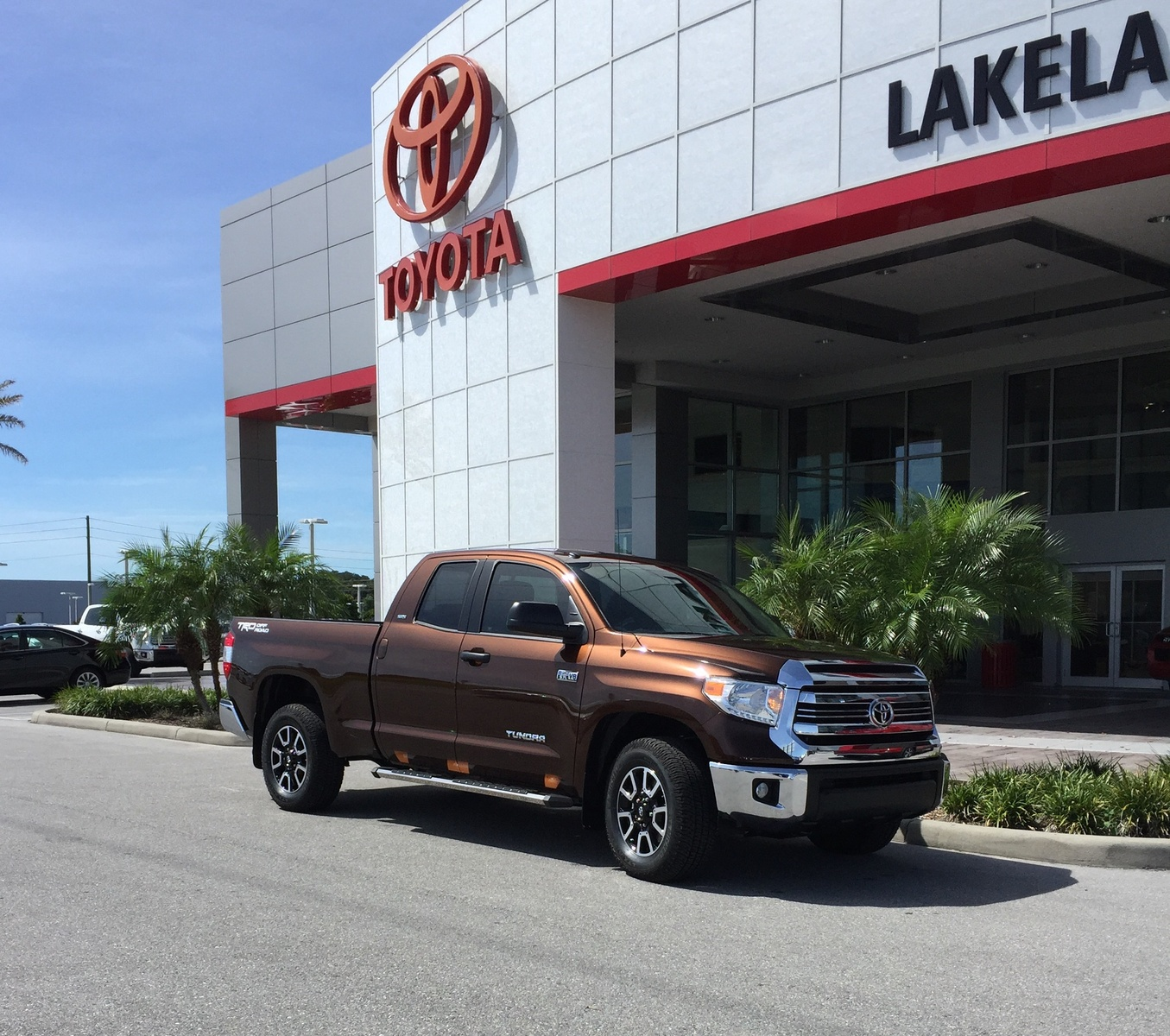 Towing A 7000 Lb Camper With Our 2017 Toyota Tundra