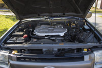 Picture of 2002 Infiniti QX4 4 Dr STD 4WD SUV, engine