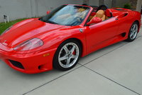 2001 Ferrari 360 Spider Picture Gallery
