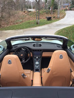 Picture of 2014 Porsche 911 Carrera 4S AWD Cabriolet, interior