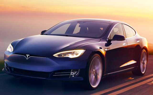 2017 Tesla Model S, Front-quarter view., gallery_worthy