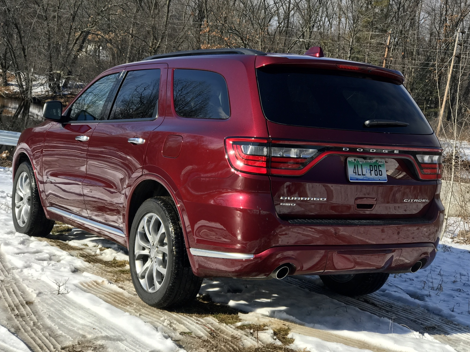 2017 Dodge Durango Citadel AWD Rear