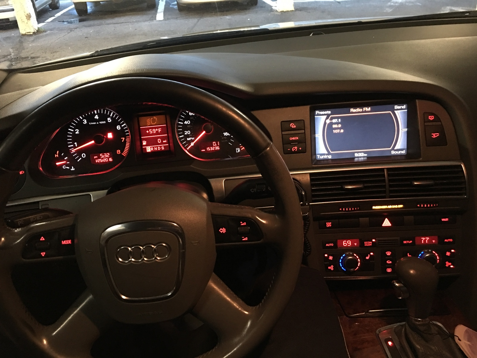 Audi A6 Questions - Audi A6 steering wheel is hard to turn when at full  stop. - CarGurus
