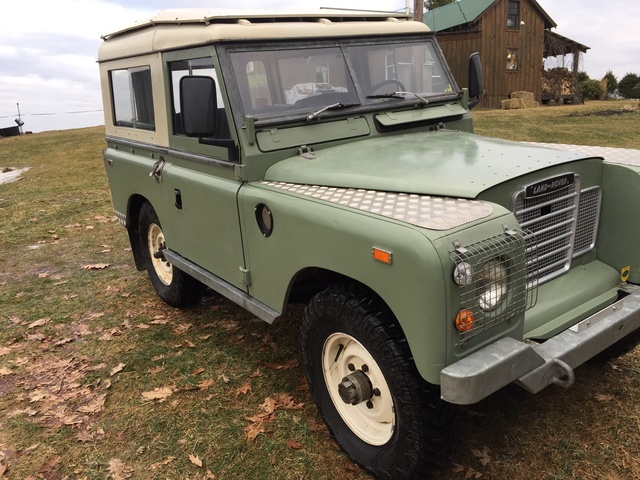 Picture of 1975 Land Rover Series III, exterior, gallery_worthy