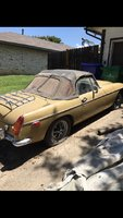 1972 MG MGB, this is it before I restored it, exterior