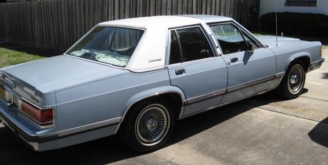 Picture of 1988 Mercury Grand Marquis