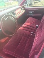 Picture of 1991 Lincoln Town Car Signature, interior
