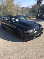Picture of 1995 Ford Mustang SVT Cobra 2 Dr STD Convertible, interior