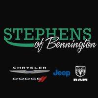 Stephens Chrysler Jeep Dodge Ram of Bennington logo