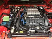 Picture of 1996 Mitsubishi 3000GT 2 Dr VR-4 Turbo AWD Hatchback, engine