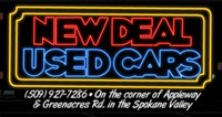 New Deal Used Cars logo