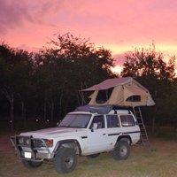 1986 Toyota Land Cruiser 4 Dr STD 4WD, Texas sunrise, exterior