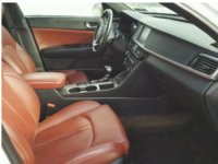 picture of 2016 kia optima sx turbo interior