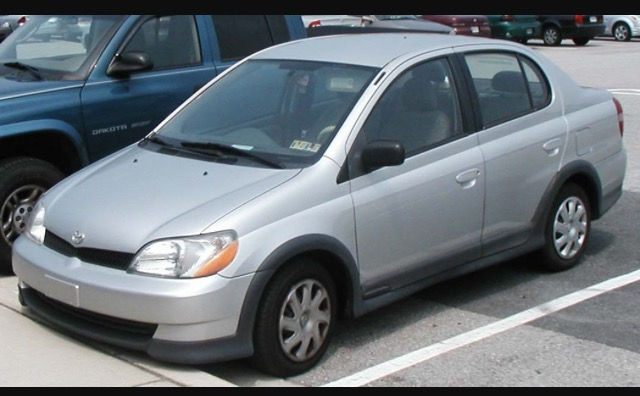 Picture of 2001 Toyota ECHO 4 Dr STD Sedan, exterior