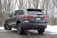 2017 Jeep Grand Cherokee, Jeep Grand Cherokee rear 3/4, exterior