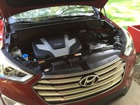 Picture of 2013 Hyundai Santa Fe GLS AWD, engine