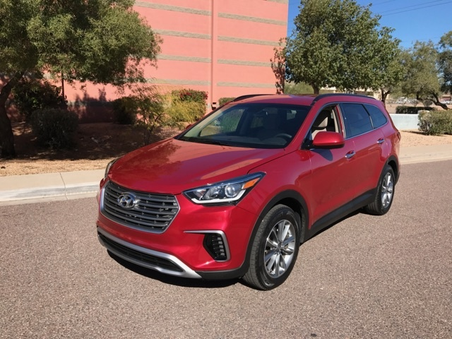 Picture of 2017 Hyundai Santa Fe SE FWD, exterior, gallery_worthy