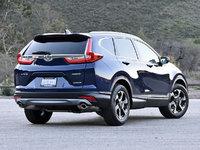 2017 Honda CR-V Touring AWD, 2017 Honda CR-V Touring in Obsidian Blue, exterior