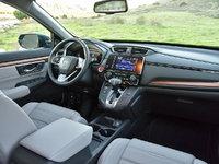 2017 Honda CR-V Touring AWD, 2017 Honda CR-V Touring dashboard and front seats, interior