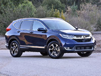 2017 Honda CR-V Touring AWD, 2017 Honda CR-V Touring in Obsidian Blue, exterior