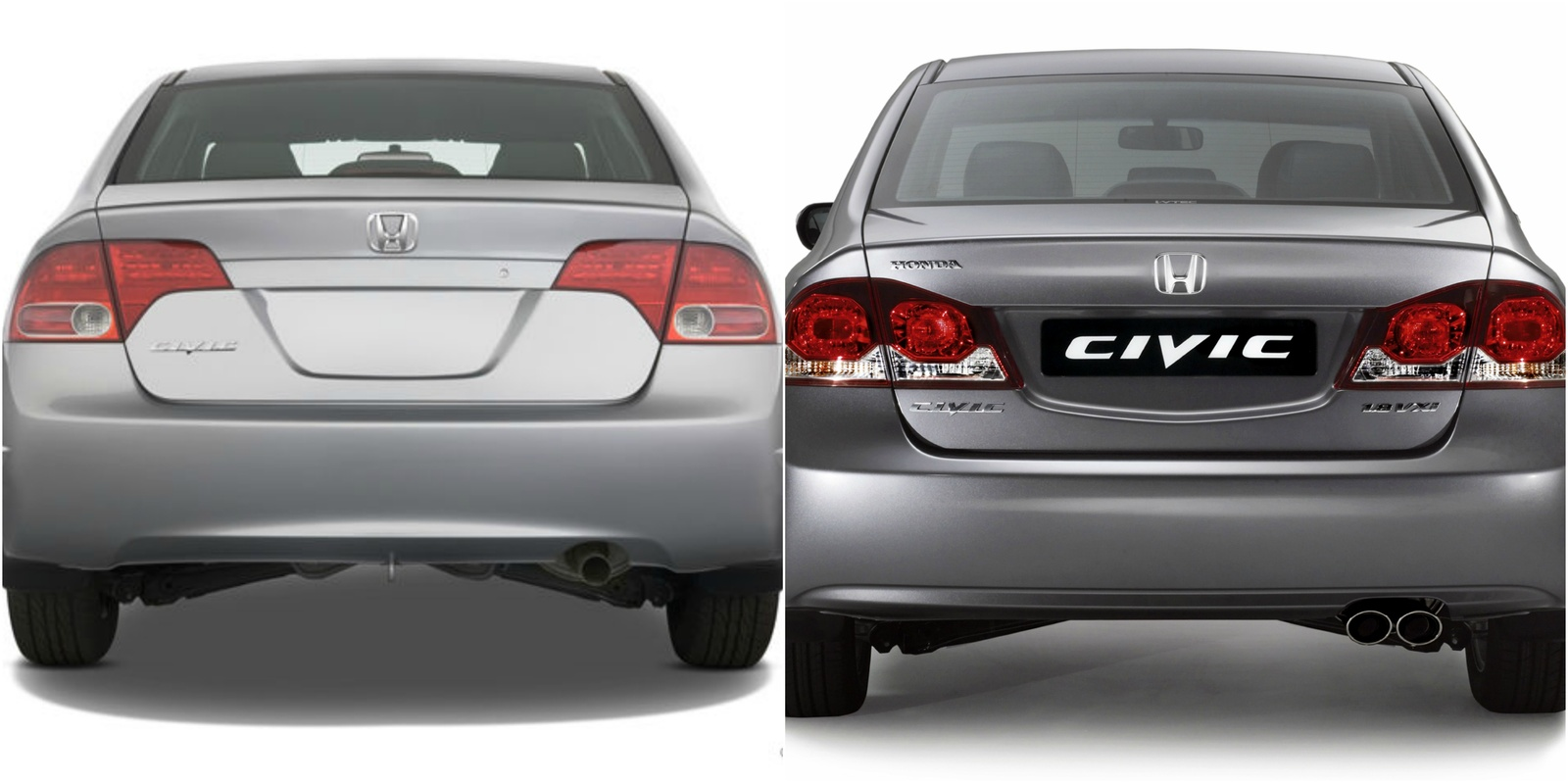 Why Does The 2008 Honda Civic In The USA Look Different Than Other Honda  Civics 2008 Outside Usa (EU,MIDDLE EAST)