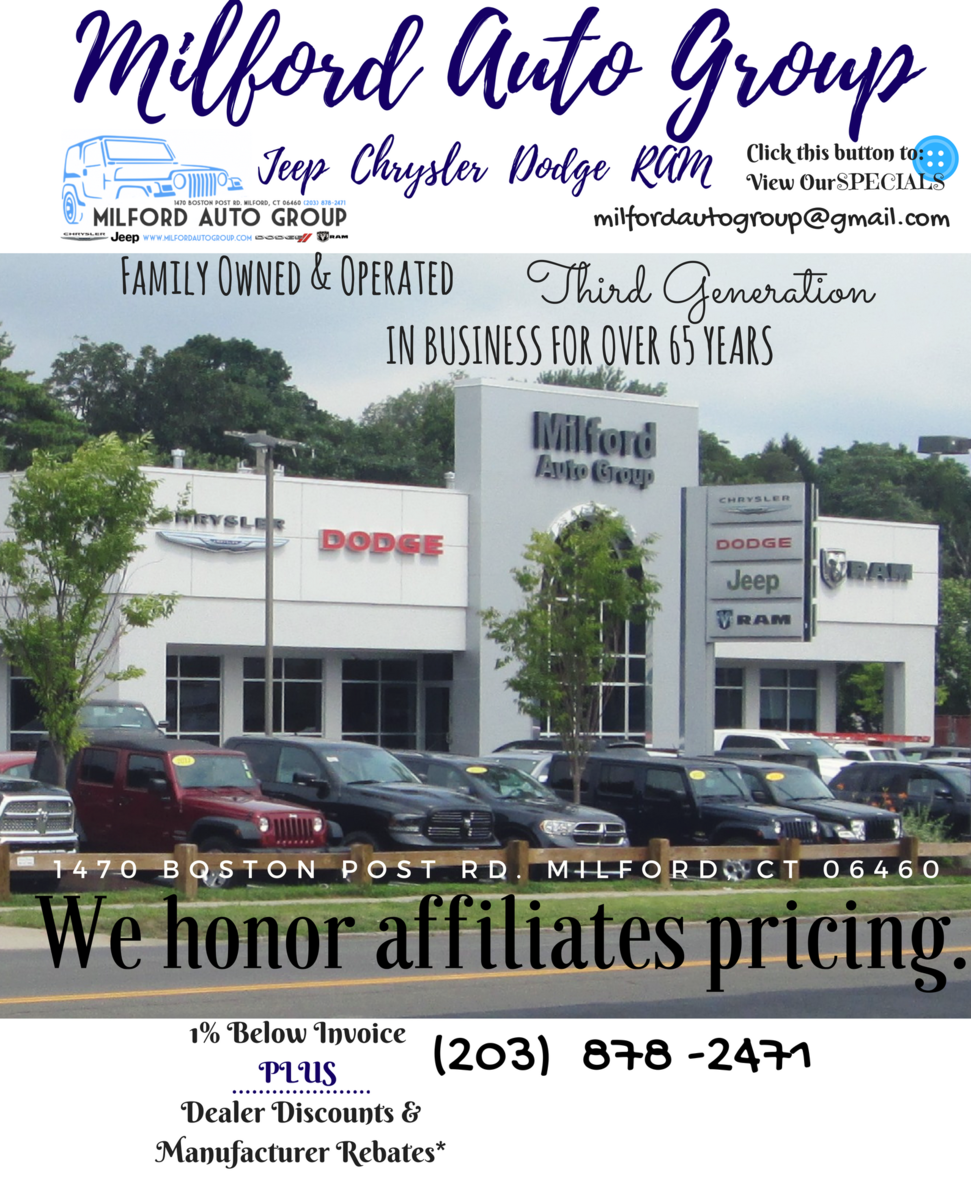 Milford Chrysler Jeep Dodge Ram